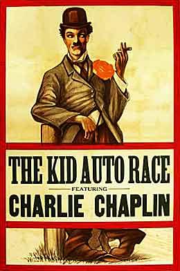 The Kid Auto Race, auglýsingaspjald