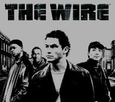 the wire veggspjald