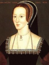 Málverk af Önnu Boleyn eftir óþekktan listamann, frá síðari hluta 16. aldar. Fengið af síðunni: http://englishhistory.net/tudor/monarchs/boleynmainjpg.jpg