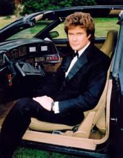 David Hasselhoff talaði við bílinn sinn í sjónvarpsþáttunum Knight Rider.