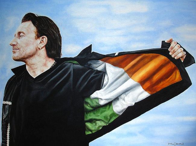 Bono flag eftir Mark Baker