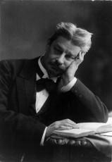 Georg Brandes. Ljósmynd frá árinu 1914.