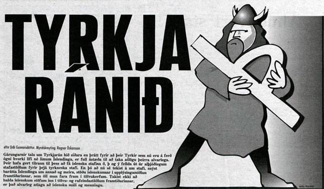 Myndskreyting: Ragnar Óskarsson