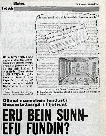 Tíminn 16. júni 1981