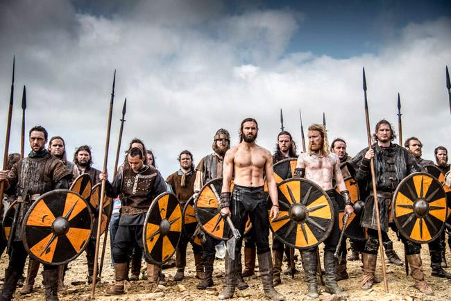 úr sjónvarsþáttaröðinni Vikings eftir Michael Hirst .