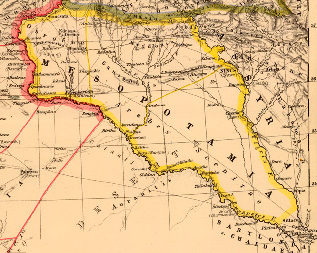Heinrich_Kiepert._Asia_citerior.Mesopotamia_650px