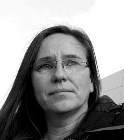 Ljósmynd af Kristínu Pálsdóttur, verkefnisstjóra hjá RIKK. Ljósmynd: Dagur Gunnarsson