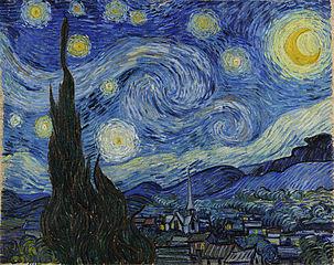 Starry Night eftir Van Gogh