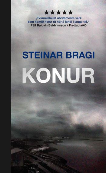 Bókarkápa bókarinnar Konur eftir Steinar Braga